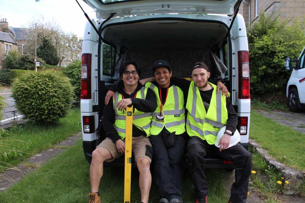 jacob removals and handyman in edinburgh