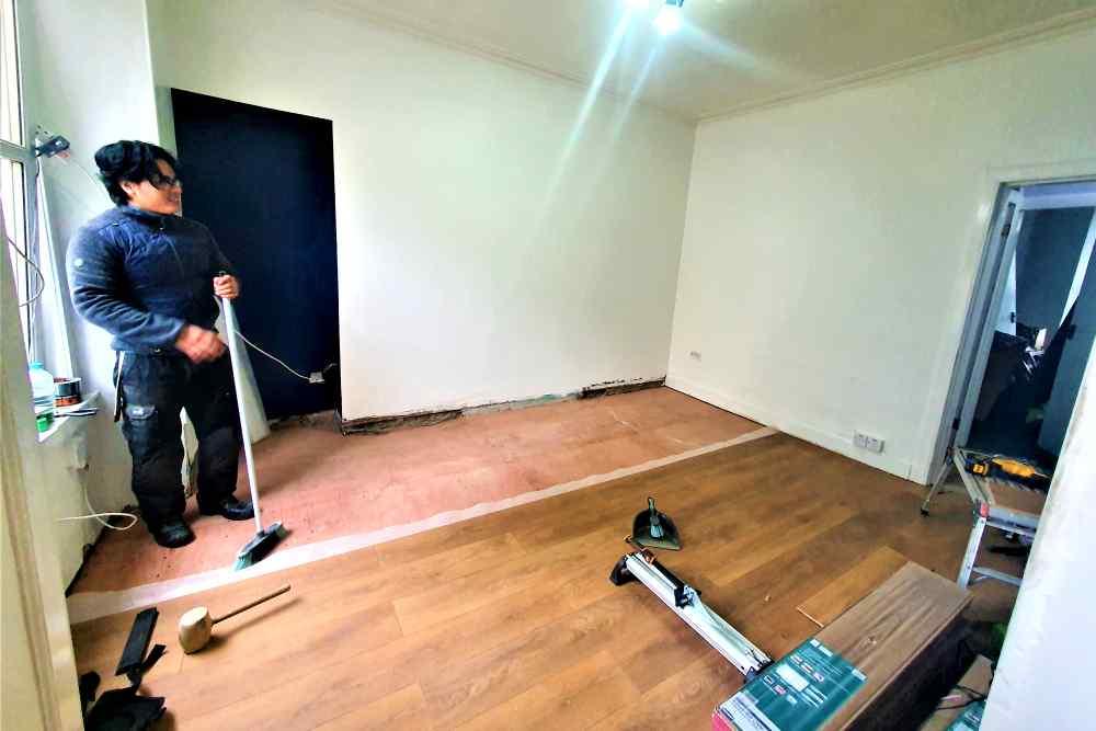 property renovations edinburgh